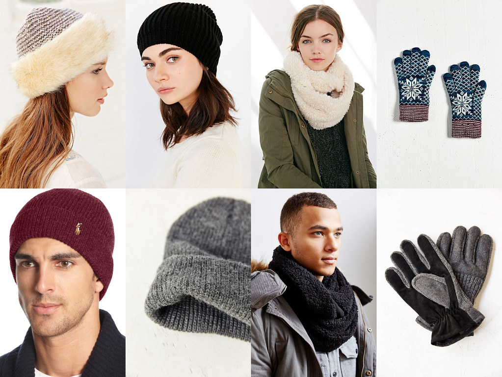 Beanie hats, scarves, gloves - How to Dress Up for Winter