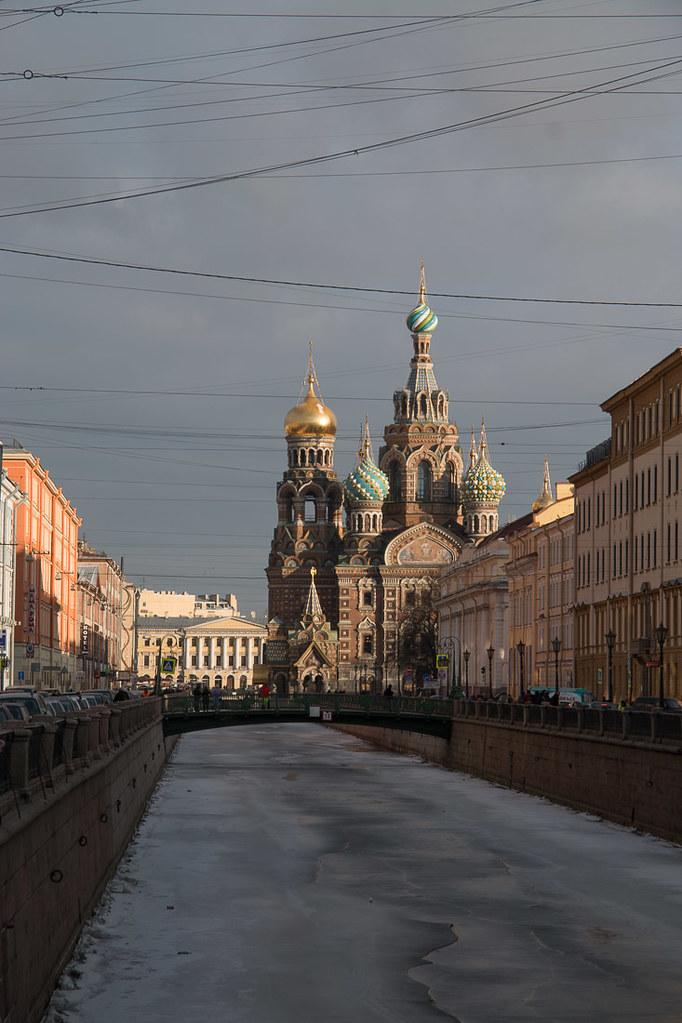 Along Nevsky Prospect