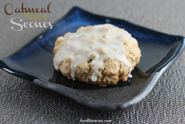 Oatmeal Maple Scones from the Flour Bakery Cookbook