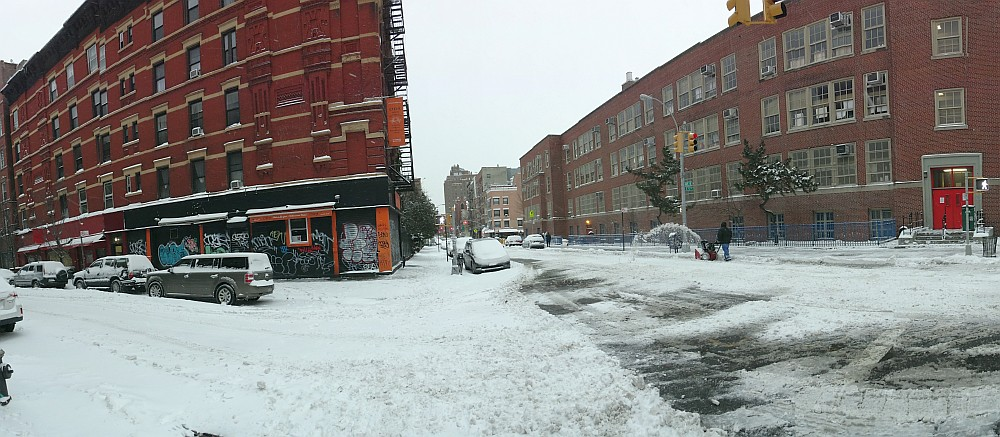 Ave B Snow
