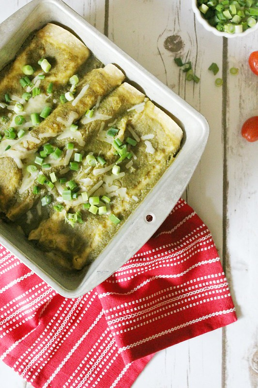 green chile + cheese enchiladas II ginger snaps blog