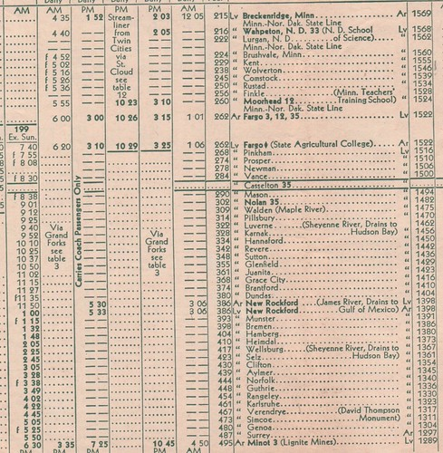 Great Northern 1950 Breckenridge Minot