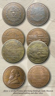 Edinbugh Caatle Museum tokens