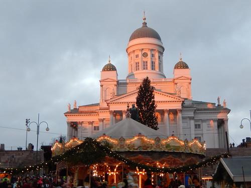 Tuomaan Markkinat/Christmas Market in Helsinki