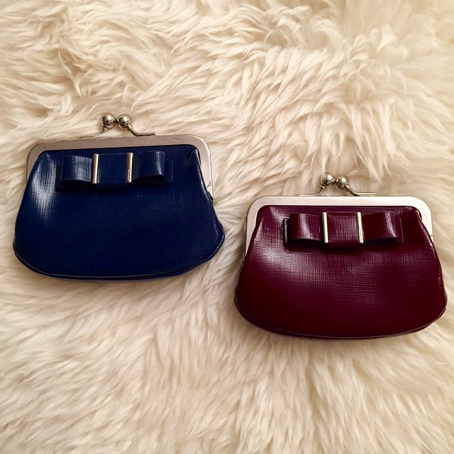 Coach Outlet Darcy Patent Bow Coin Purses