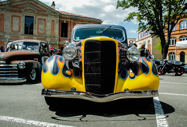 Ford hot rod 1935