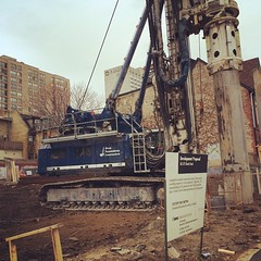 Shoring work happening on the #365Church site in downtown #Toronto! #LifeStoreys