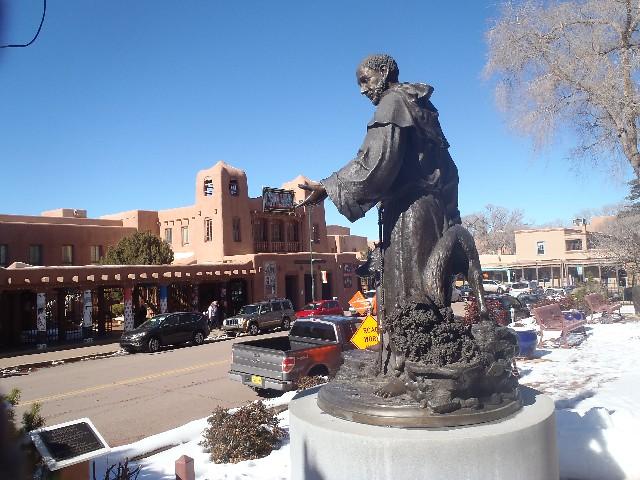 Santa Fe NM Plaza