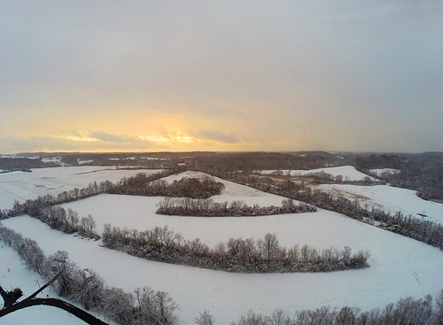 thanksgiving winter sunset cold beautiful rural amazing farm farming aerial chilly drone skaneateles gopro djiphantom2