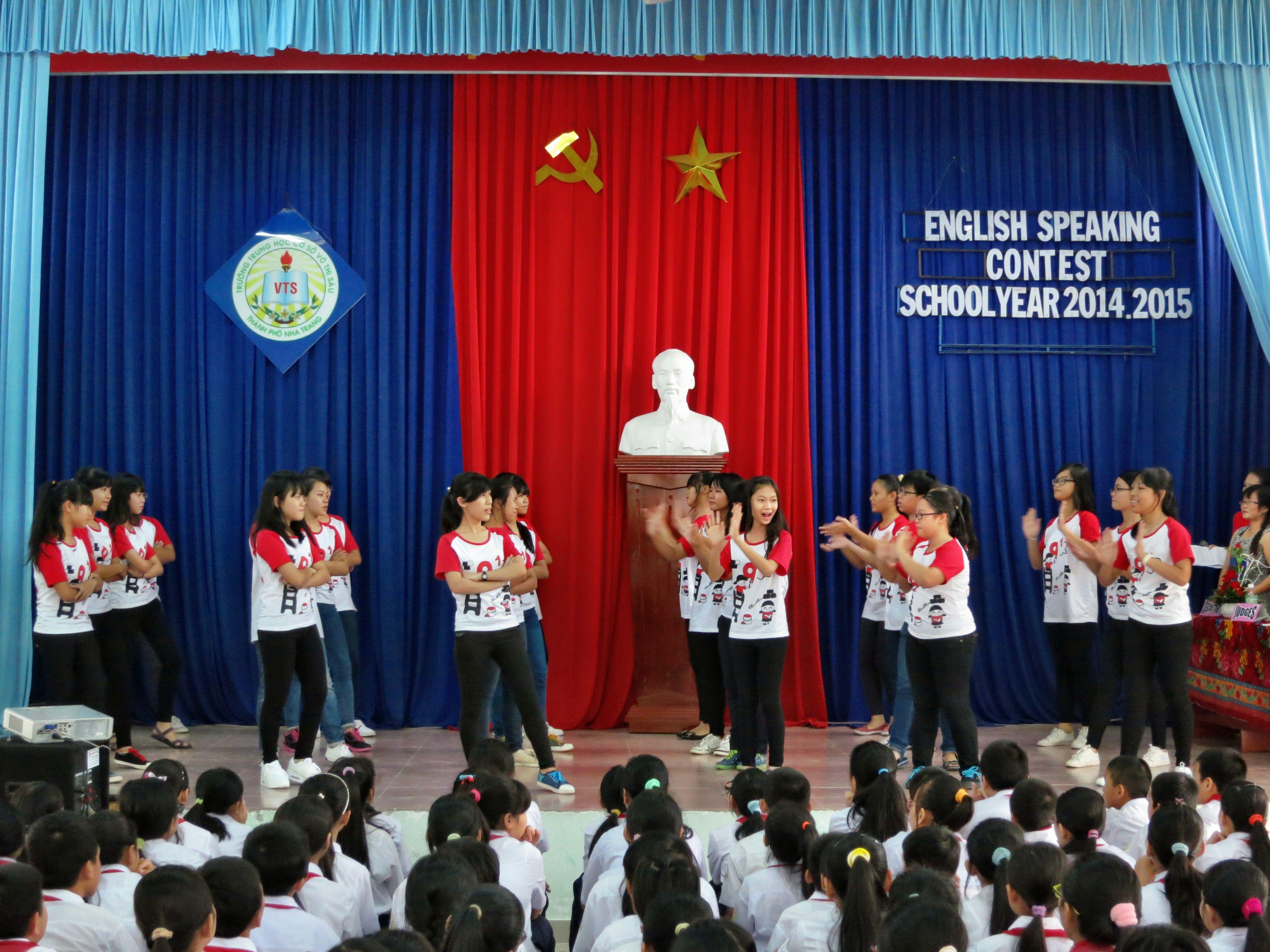 """Cuộc Thi """"Hùng Biện Tiếng Anh"""" Cấp Trường Năm Học 2014 – 2015"""