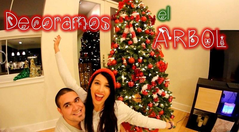 DECORAMOS EL ARBOL DE NAVIDAD!!