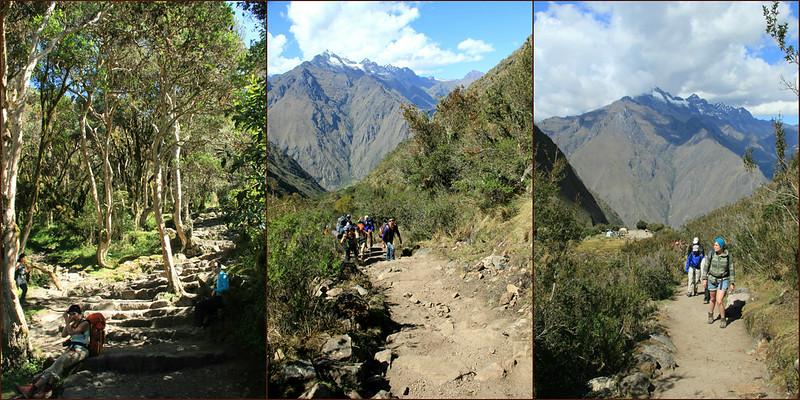 Day 2 climbs, Inca Trail