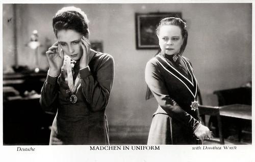 Dorothea Wieck in Mädchen in Uniform (1931)