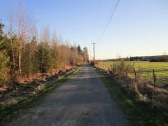 Gravel road near 172nd & 19th