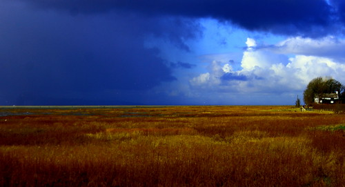 england sky west landscape cheshire wildlife north estuary dee burton wirral marshes rspb