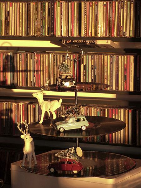 disques et voitures