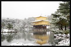 日本京都-金閣寺-雪.47
