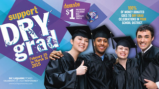 Support Dry Grad campaign funds local celebrations