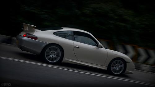 Porsche 911 996 GT3 in Hong Kong