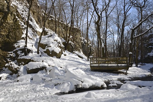 winter columbus ohio dublin snow cold ice nature frozen run falls hayden february preserve griggs 2015