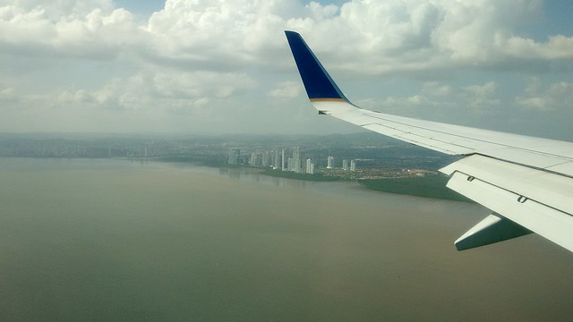 Panama City Seen from Air