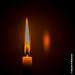 HDR Candle Flame by DaxxKD