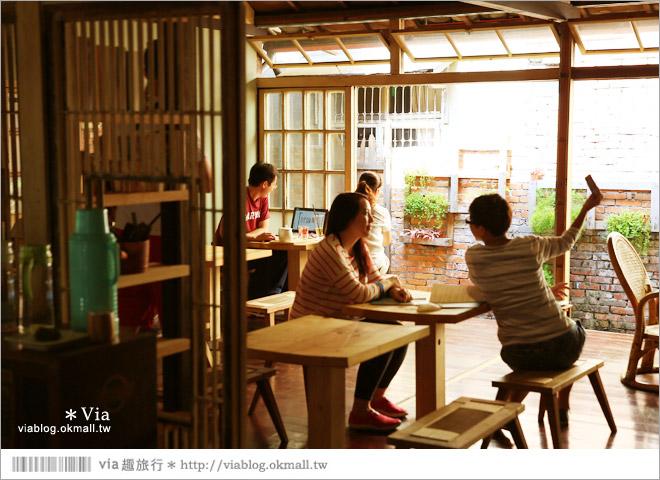 【台中老宅餐廳】台中下午茶~拾光機。日式老宅的迷人新風情,一起文青一下午吧!29