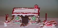a Pretzel Log house! - not quite a Ginger Bread ho…