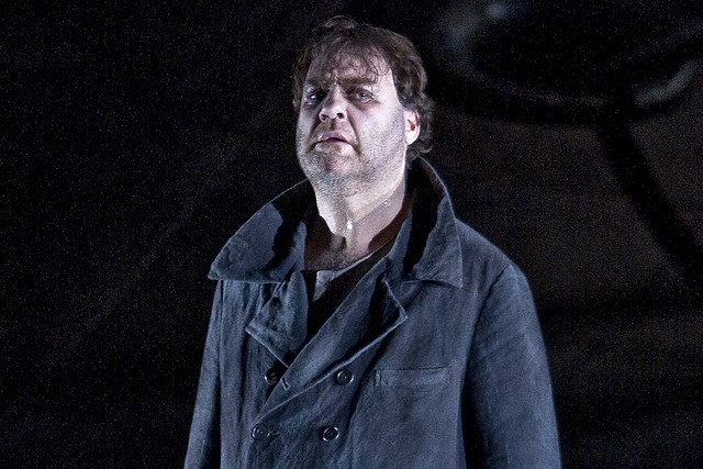 Bryn Terfel as the title role in Der fliegende Holländer, The Royal Opera © ROH/Clive Barda, 2009
