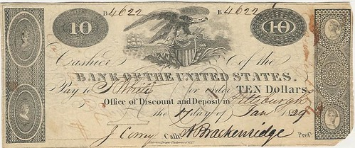 Bank of the U.S. Pittsburgh note