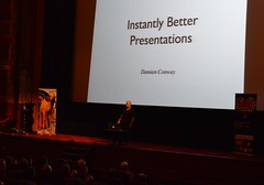 Damian presents Instantly Better Presentations