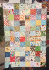 quilt for Caleb J.