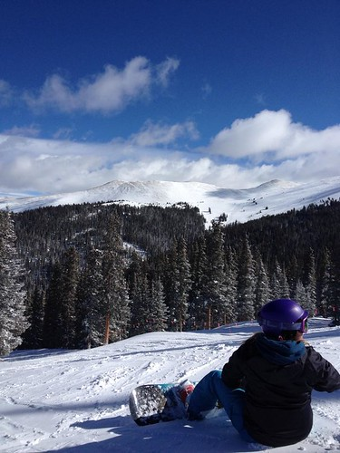 Katie at Keystone April 2014