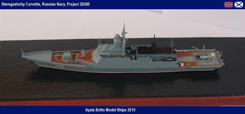 Corvette Russe Steregushchy 530, Project 20380 - Gwylan Models / Combrig 1/700 16417150787_517c0e2d95_b