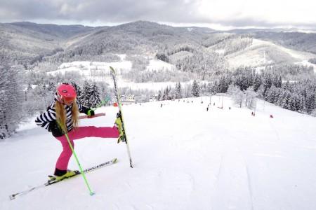 SNOW tour 2014/15: Karolinka – prašanové Beskydy