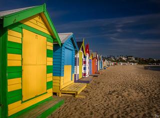 More Brighton Beach Huts Signed