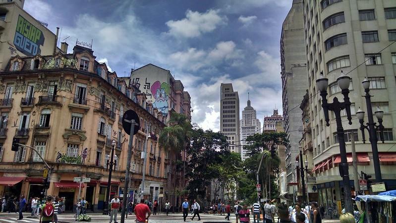 Coração de São Paulo do meu coração