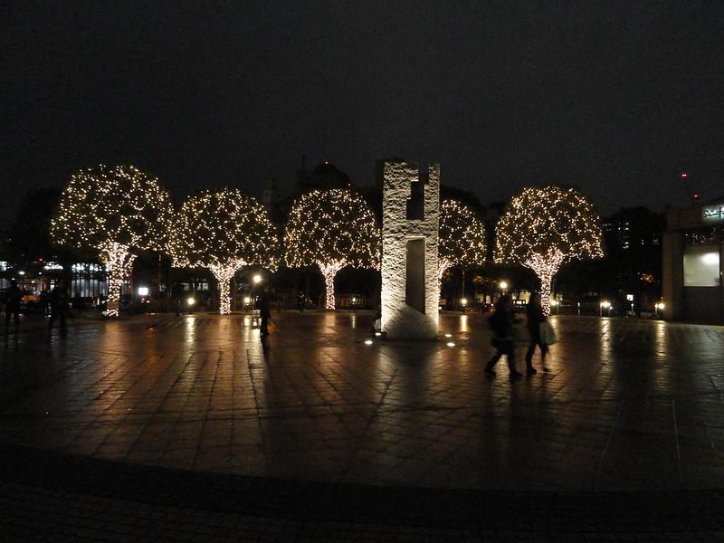 Christmas lights at Ebisu, Tokyo