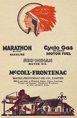 Publicité - essence et huiles à moteur. 1931. P98-01_073 62