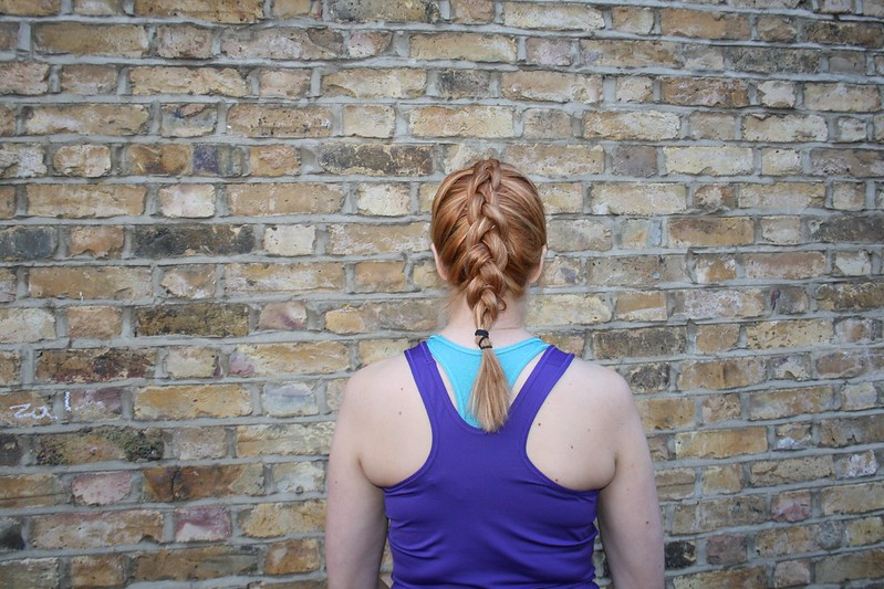 Dutch plait hair