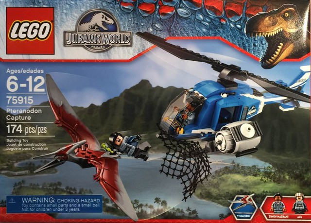 LEGO Jurassic World 75915 - Pteranodon Capture