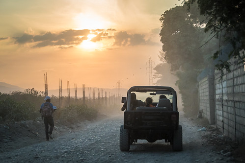 sunset haiti beachbuggy tabarre petterphoto pettersandell