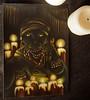 Voodoo Priestess Cat Painting