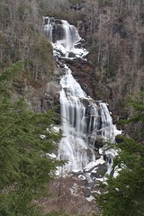 Icy Upper Whitewater Falls