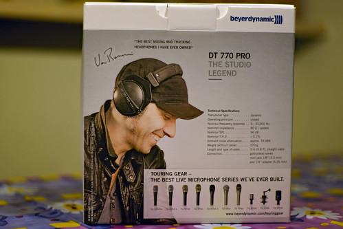 DT 770 Pro Box