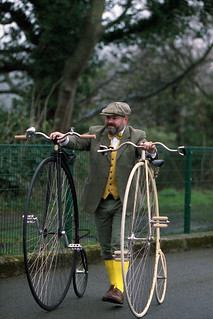 One Penny Farthing is extravagant, Two is just showing off