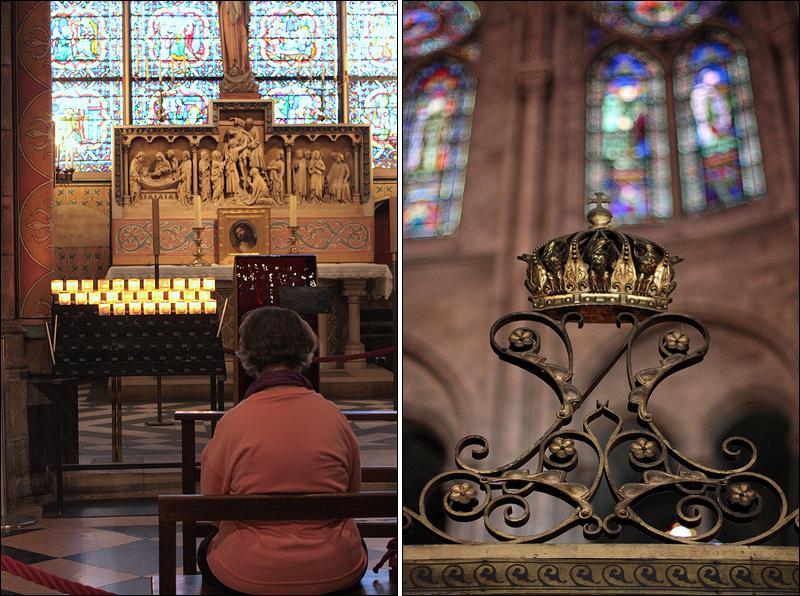 Notre Dame de Paris interiors