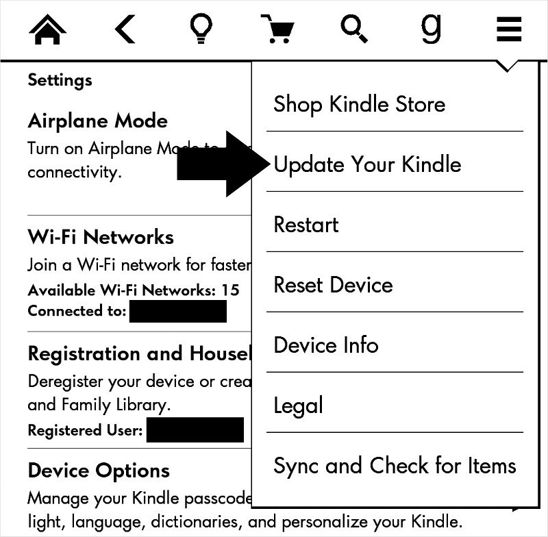 How to automatically download and install software updates on your Kindle Voyage