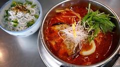 柚子辣湯麺(塩)+釜揚げしらすと大根…