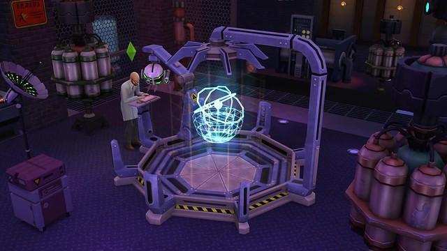 The Sims 4 Get to Work- Official Scientist Gameplay Trailer 0594